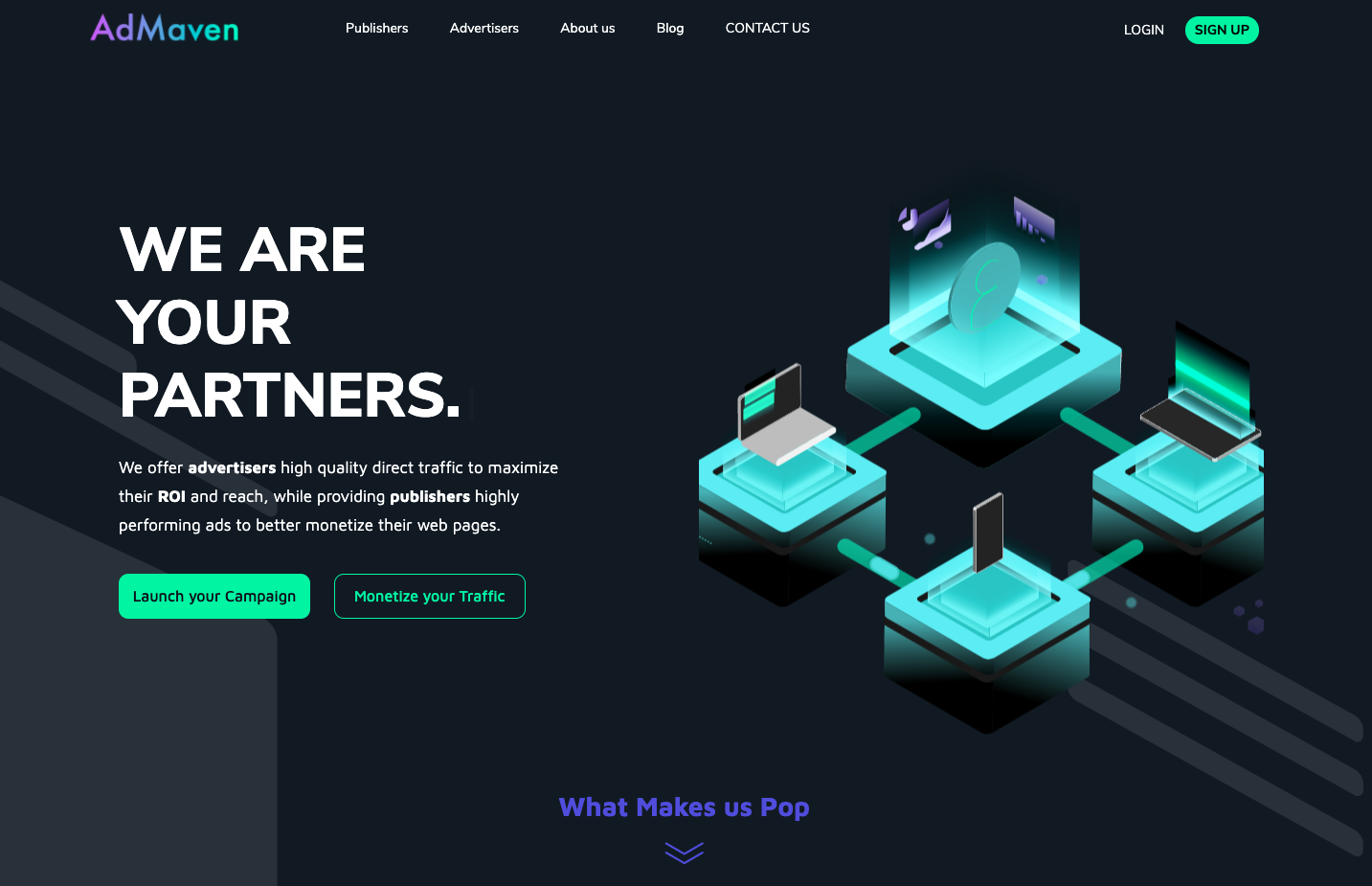Preview of AdmAven site